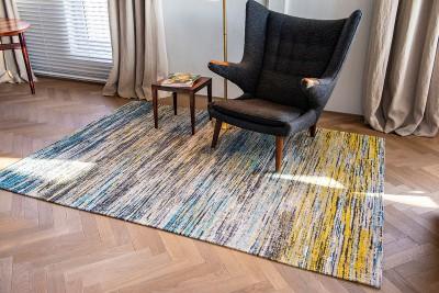 Thảm trải sàn Blue Yellow Mix