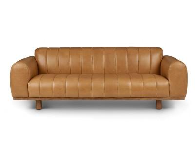 Sofa da cổ điển Texada Taos Tan