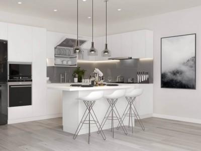 Tủ bếp Arcylic