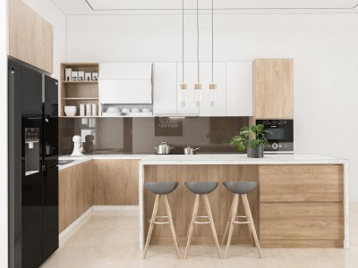 Tủ bếp HDF